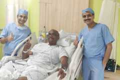 West Indies former pacer Ian Bishop undergone surgery at Apollomedics