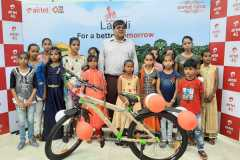 Airtel Distributes bicycles to daughters of its rural distributors under 'Airtel ki Laadli' program