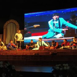 Farrukh Baig treated the audience to a distinctive rendition, abiding by his soulful ghazals