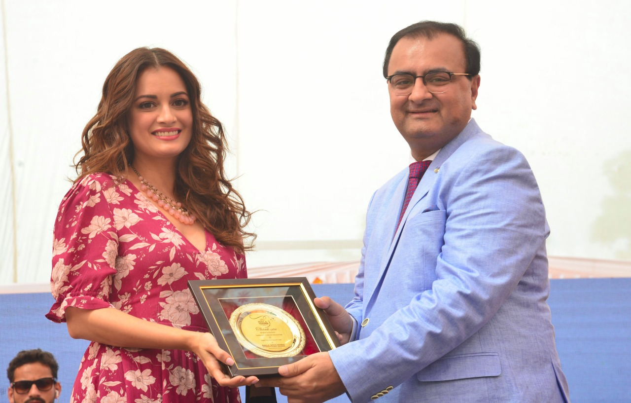 dia mirza in lucknow kaivalya communication