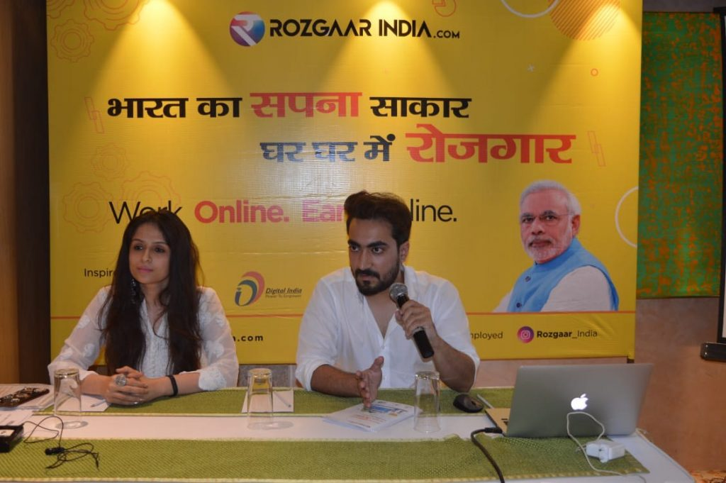 "Rozgaar India will open the new way for ""Employment"""