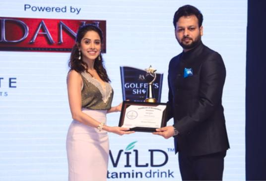 Vishal Mishra of Kaivalya Communication conferred with Times Power Icon North 2019