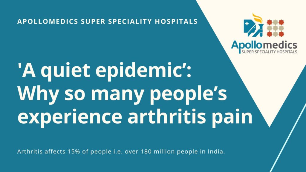 'A quiet epidemic': Why so many people's experience arthritis pain