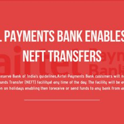 Airtel Payments Bank enables 24x7 NEFT transfers