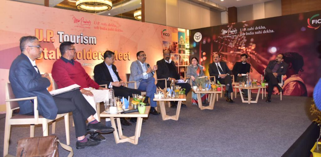 FICCI organized the Stakeholders meet on improving the tourism of Uttar Pradesh