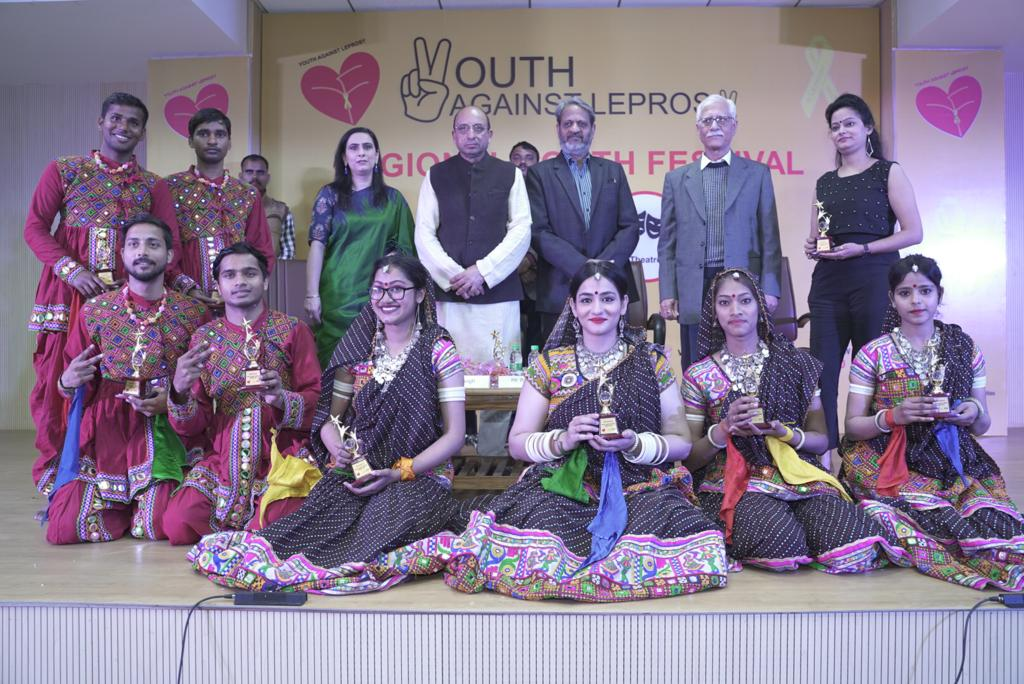 The Youth Festival marks an inclusive regional movement 'Youth Against Leprosy' to rise against discrimination and leprosy