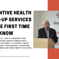 Medanta Hospital, Asia's foremost and trusted healthcare group conducted a conference on Saturday to convey about the critical cases, successfully managed complex surgeries and treatment facilities of the hospital.